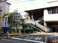福岡法務局への道順②