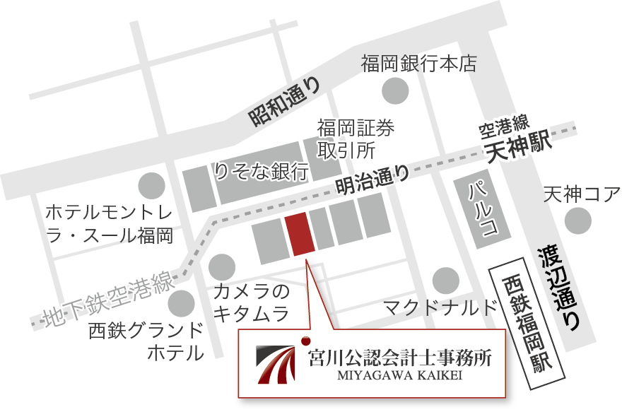 福岡の地図・場所