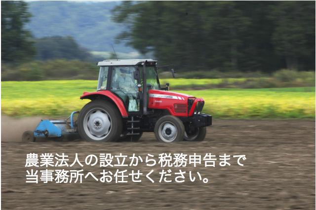 農業生産法人 確定申告