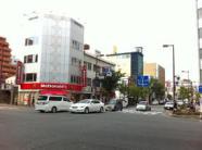 福岡法務局への道順①